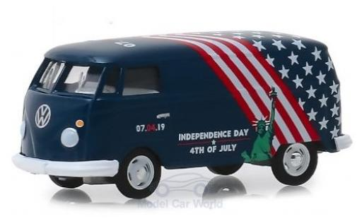 Volkswagen T2 1/64 Greenlight Kastenwagen Independence Day 2019 miniature