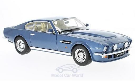 Aston Martin V8 1/18 GT Spirit Vantage V580 X-Pack métallisé bleue miniature