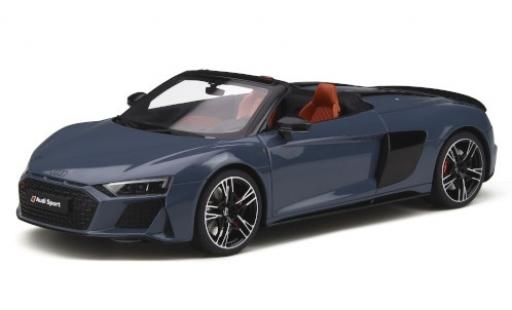 Audi R8 1/18 GT Spirit Spyder grey 2019 diecast model cars