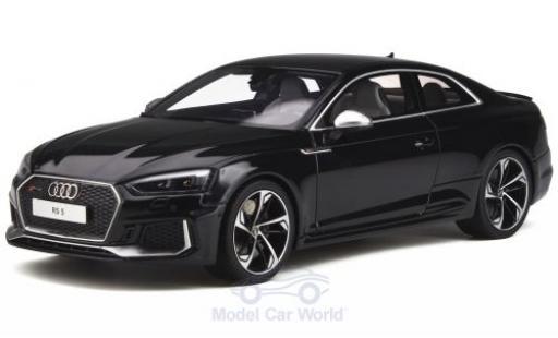 Audi RS5 1/18 GT Spirit RS 5 noire miniature