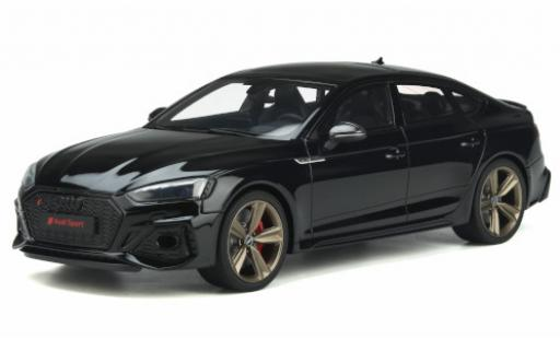 Audi RS5 1/18 GT Spirit (B9) Sportback negro 2020 coche miniatura