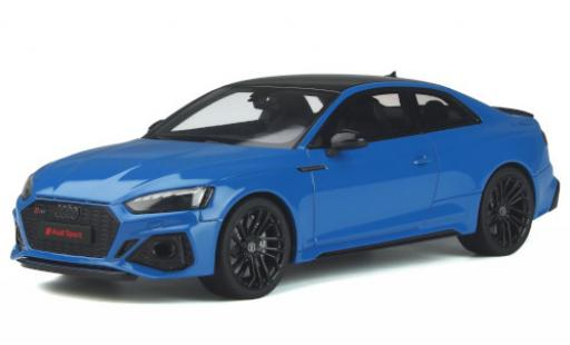 Audi RS5 1/18 GT Spirit Coupe (F5) blau 2020 modellautos