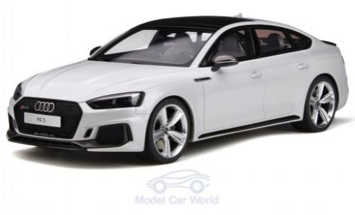 Audi RS5 1/18 GT Spirit Sportback grise miniature