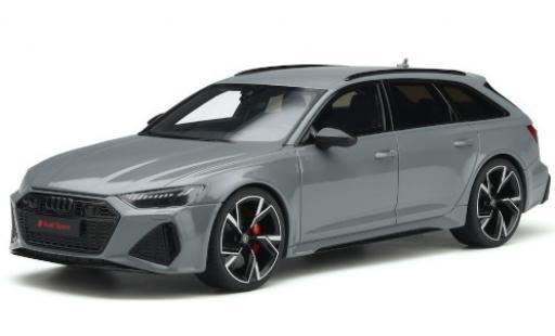 Audi RS6 1/18 GT Spirit Avant grey 2020 diecast model cars