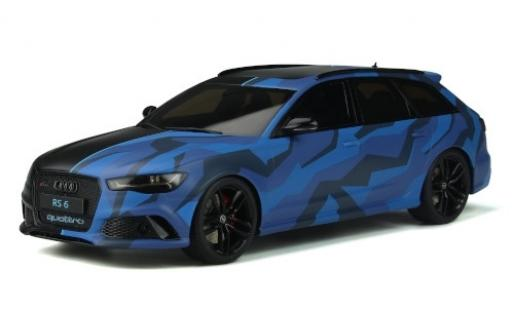 Audi RS6 1/18 GT Spirit (C7) Avant GMK matt-black/Dekor 2019 diecast model cars