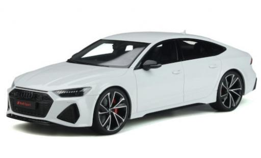 Audi RS7 1/18 GT Spirit Sportback (C8) weiss 2020 modellautos