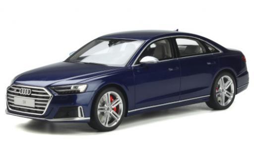 Audi S8 1/18 GT Spirit (D5) metallise azul 2020 coche miniatura