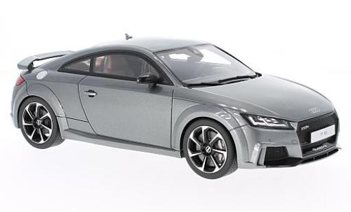 Audi TT 1/18 GT Spirit RS metallise grey 2016 diecast model cars