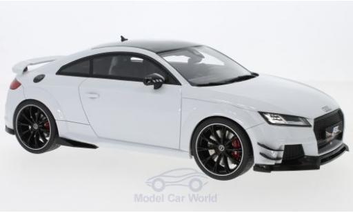 Audi TT RS 1/18 GT Spirit -R ABT metallise white 2017 diecast model cars