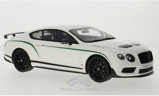 Bentley Continental T 1/18 GT Spirit G 3-R blanche/Dekor miniature