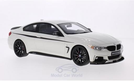 Bmw 435 F32 1/18 GT Spirit i  M Performance blanche/Dekor miniature