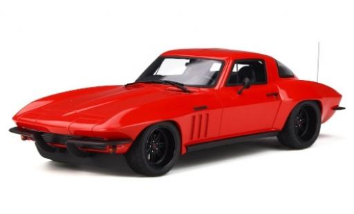 Chevrolet Corvette 1/18 GT Spirit C2 Optima Ultima red diecast model cars