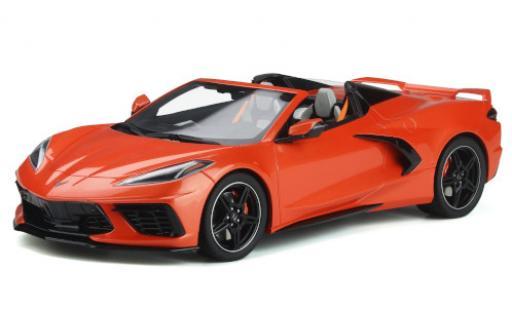 Chevrolet Corvette 1/18 GT Spirit C8 Convertible orange 2020 diecast model cars