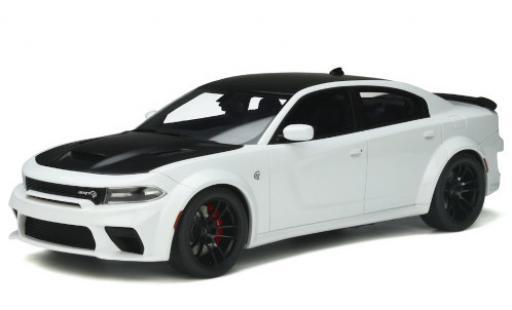 Dodge Charger 1/18 GT Spirit SRT Hellcat Redeye white/matt-black 2021 diecast model cars