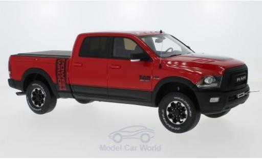 Dodge RAM 1/18 GT Spirit Ram 2500 Power Wagon rouge 2017 miniature