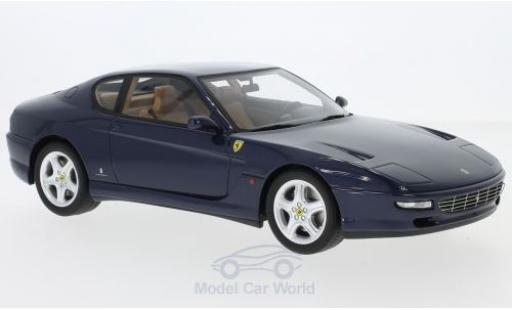 Ferrari 456 1/18 GT Spirit GT metallic-bleue 1992 miniature