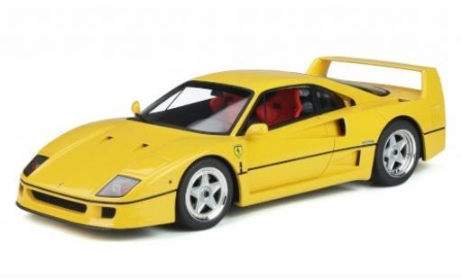 Ferrari F40 1/18 GT Spirit yellow 1987 diecast model cars