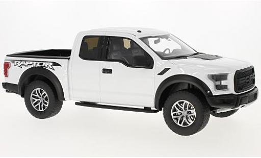 Ford F1 1/18 GT Spirit 50 Raptor white 2016 diecast model cars