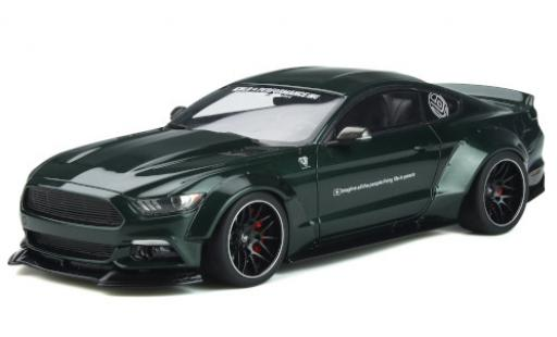 Ford Mustang 1/18 GT Spirit by LB Works green 2015 diecast model cars