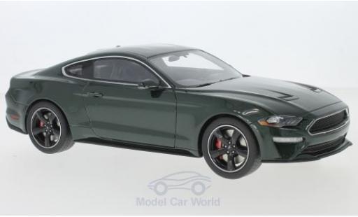 Ford Mustang 1/18 GT Spirit GT Bullitt métallisé verte 2019 miniature