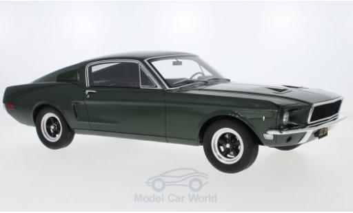 Ford Mustang 1/18 GT Spirit GT verte Bullitt 1968 miniature