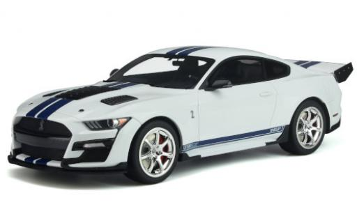 Ford Mustang 1/18 GT Spirit Shelby GT500 Dragon Snake blanco/azul 2020 coche miniatura
