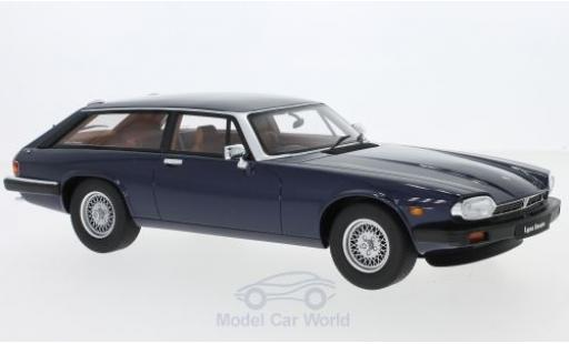 Jaguar XJS 1/18 GT Spirit Lynx Eventer metallise bleue RHD miniature