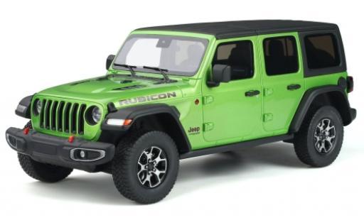Jeep Wrangler 1/18 GT Spirit Rubicon metallise verte 2019 miniature
