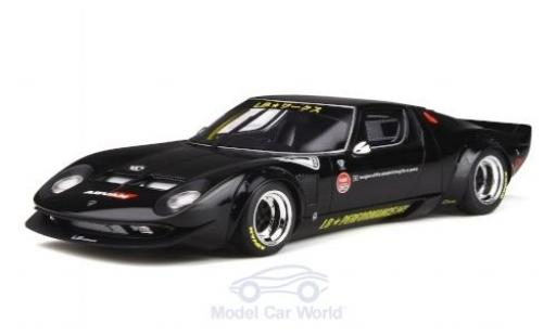 Lamborghini Miura 1/18 GT Spirit LB-Works black RHD 2008 diecast model cars