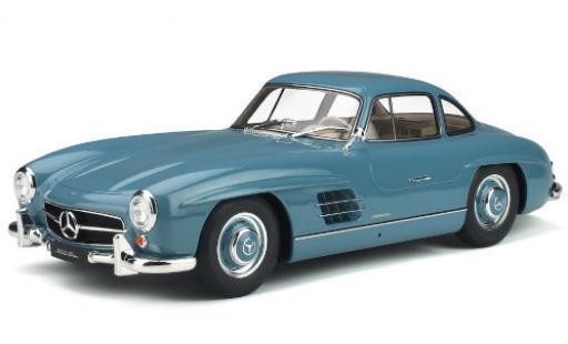 Mercedes 300 1/12 GT Spirit SL (W198) bleue 1954 miniature