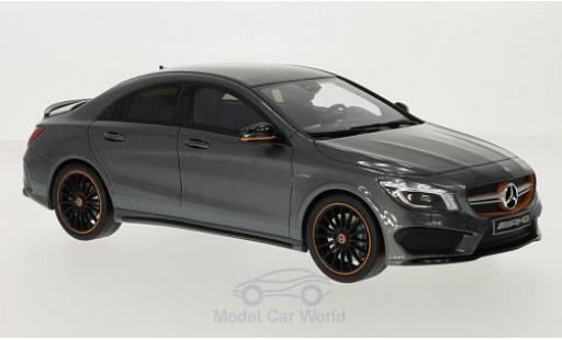 Mercedes CLA 1/18 GT Spirit AMG 45 metallise grise miniature