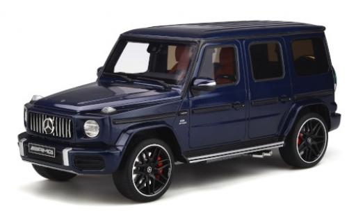 Mercedes Classe G 1/18 GT Spirit AMG G63 blue 2020 diecast model cars