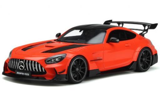 Mercedes AMG GT 1/18 GT Spirit -R Black Series (C190) orange/black 2021 diecast model cars