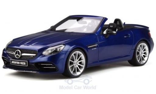 Mercedes Classe C 1/18 GT Spirit AMG SLC 43 (R172) metalico azul 2016 miniatura