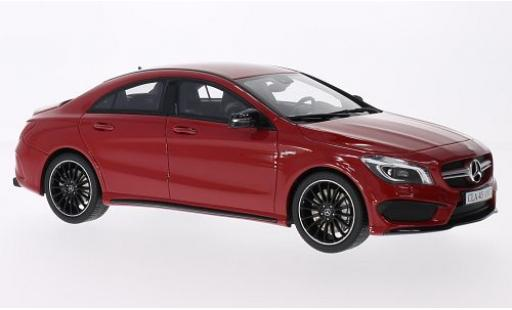 Mercedes CLA 1/18 GT Spirit 45 AMG rouge miniature