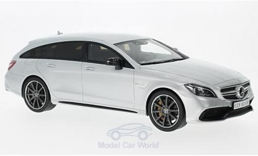 Mercedes CLS 1/18 GT Spirit 63 AMG Shooting Brake grise 2014 miniature