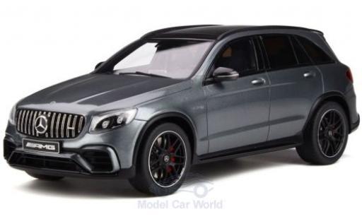 Mercedes Classe GLC 1/18 GT Spirit GLC 63 S métallisé grise 2017 miniature