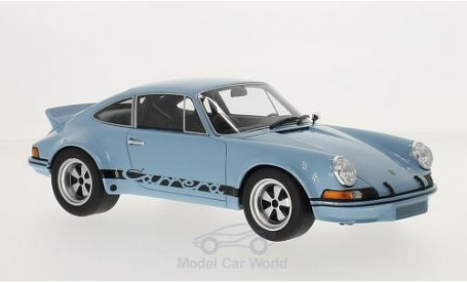 Porsche 911 SC 1/18 GT Spirit 2.8 R hellbleue/noire miniature