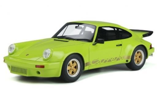 Porsche 930 1/18 GT Spirit 911 3.0 RS green/Dekor 1974 diecast model cars