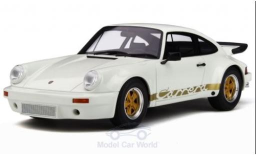 Porsche 930 SC 1/18 GT Spirit 3.0 RS blanche/gold 1974 miniature