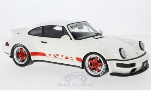 Porsche 964 SC 1/18 GT Spirit (964) RWB Duck Tail blanche/rouge miniature