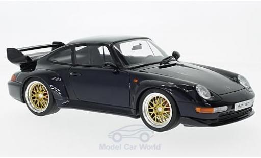 Porsche 993 SC 1/18 GT Spirit 911  GT metallise blu 1995 modellino in miniatura