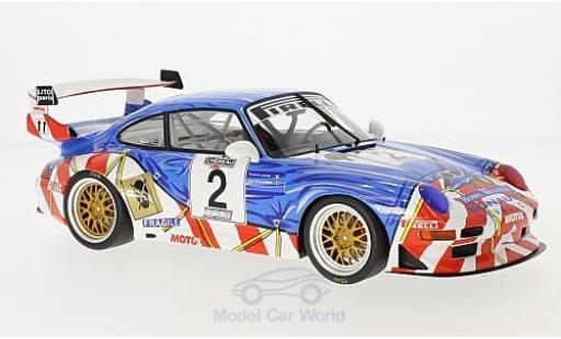 Porsche 996 GT2 1/18 GT Spirit 911 (993) No.2 GT Championship Le Mans 1998 J-P.Jarier/F.Lafon miniature