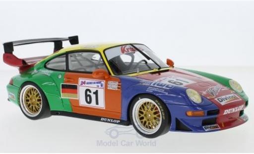 Porsche 996 GT2 1/18 GT Spirit 911 (993) No.61 Krauss Race Sports Intl. 24h Le Mans 1998 B.Müller/M.Trunk/E.Palmberger diecast model cars
