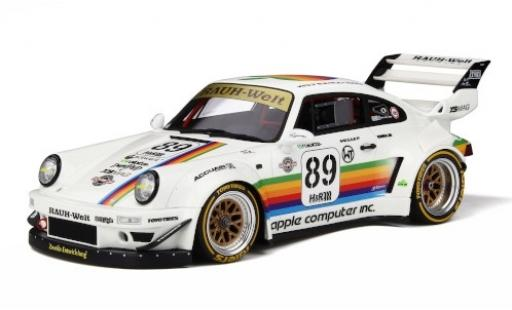 Porsche 993 RWB 1/18 GT Spirit 911  Body Kit white/Dekor diecast model cars