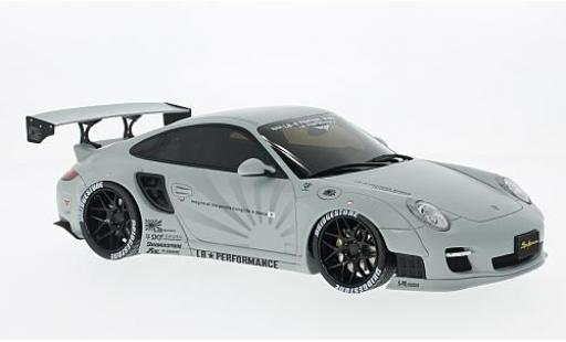 Porsche 997 1/18 GT Spirit 911  LB Performance matt-grise miniature