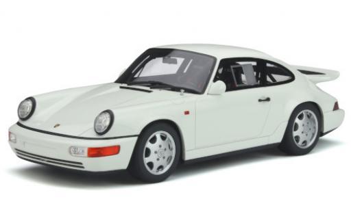 Porsche 964 1/18 GT Spirit 911 Carrera 4 Lightweight  white 1991 diecast model cars