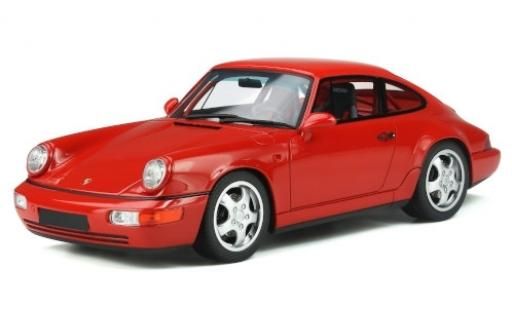 Porsche 964 RS 1/18 GT Spirit 911 Carrera 3.6 Club Sport  rouge miniature