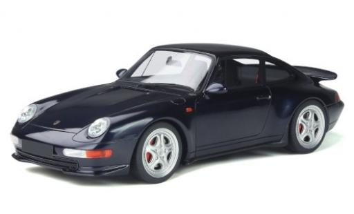 Porsche 993 1/18 GT Spirit 911 RS  metallise bleue 1995 miniature