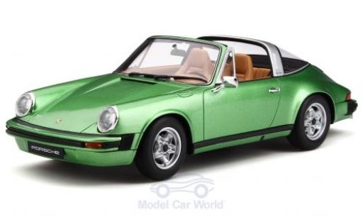 Porsche 930 Targa 1/18 GT Spirit 911 S 2.7 metallise green 1974 diecast model cars